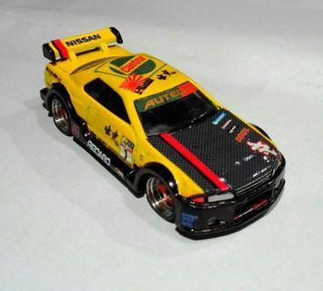 🚚 Hotwheels Nissan R32 driftstyle.