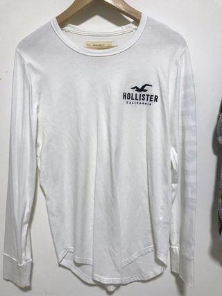 🚚 Hollister long sleeve shirt with curved hem