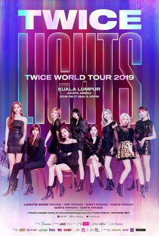 Twice malaysia concert