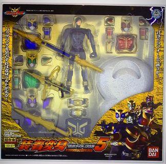 全新未開封東映出版幪面超人古迦KUGGA裝着變身套裝超合金 GD-27