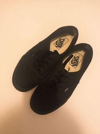 vans classic black