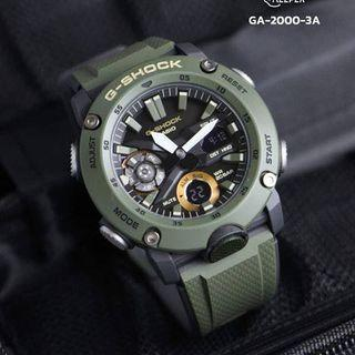 💚100% Authentic Casio Gshock 2019 GA2000 Series Carbon Core with FREE DELIVERY 📦 G-Shock