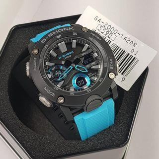 💙100% Authentic Casio Gshock GA2000 Blue Black Unisex with FREE DELIVERY 📦 G-Shock Watch