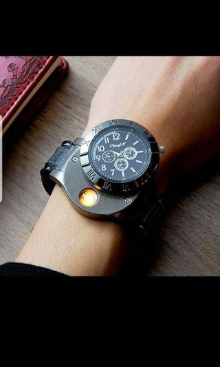 Usb Rechargeable Watch Lighter for Men