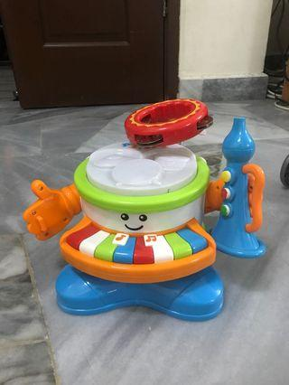 Toy drumset