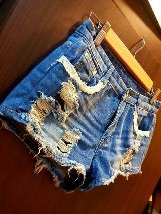 米妮牛仔短褲