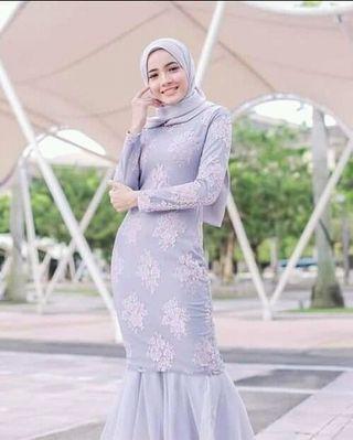 Dress murah grey