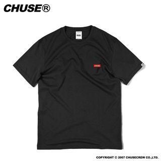 Chuse Patch Logo Tee 黑色 素T 短袖