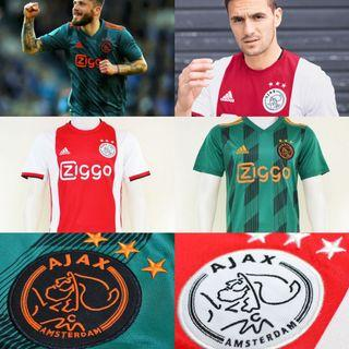 Ajax 2019/20 Home and Away Soccer Kit