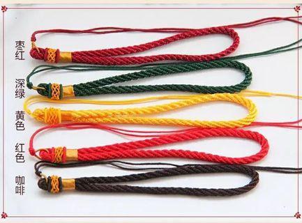 手工線繩 綠色