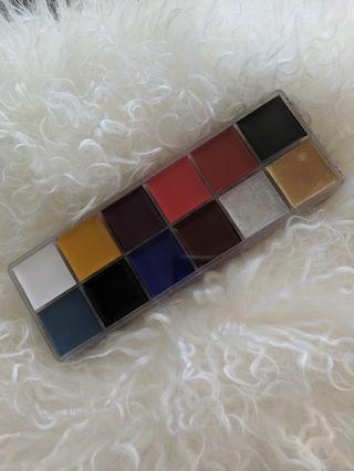 12 colour makeup palette