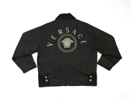 Versace Jeans Couture Medusa Big Logo Spell Out Jacket