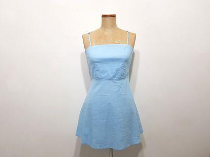 Baby Blue A Line Dress