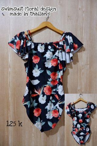 Swimsuit Floral Design Made in Thailand