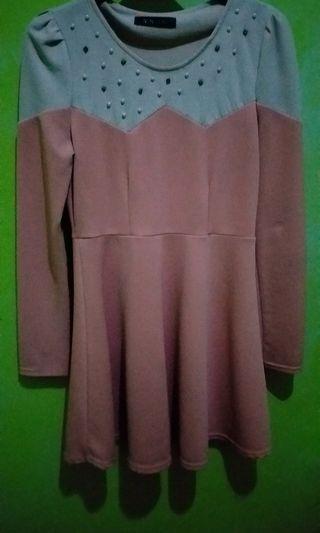 #SociollaCarousell Dress Wanita Peach