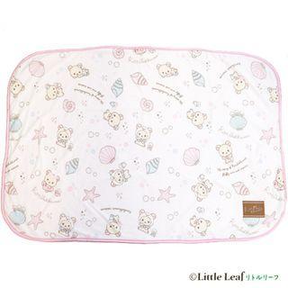 日本 Sherbet Cool 鬆弛熊 嬰兒涼感套裝(涼感毯 + BB車涼感座墊)