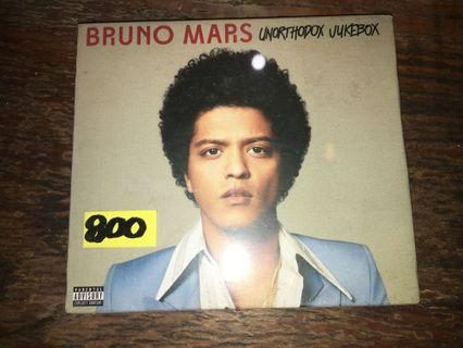 Bruno Mars Unorthodox Juxebox CD