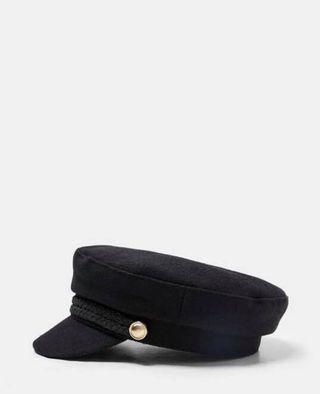 Zara 毛料軍帽