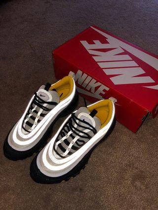 REFLECTIVE NIKE AIR MAX 97 BLACK/WHITE/AMARILLO