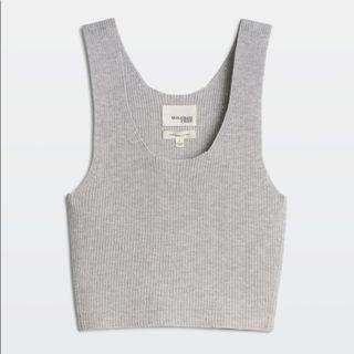 Aritzia Wilfred Free Crop Knit Tank Size Small
