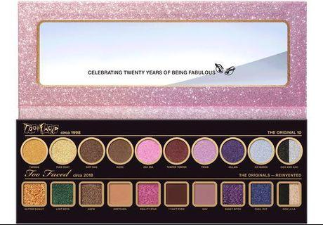 Too Faced Now and Then Eyeshadow Palette