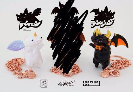 山椒魚 x 天使與魔鬼 unicorn