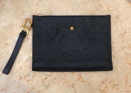 Authentic Versace Mens Clutch/Pouch