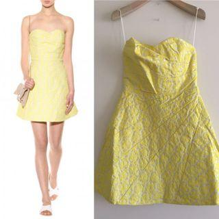 Alice Olivia strapless cocktail dress size size 4