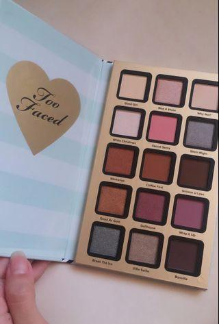 Too Faced Pretty little planner 2018