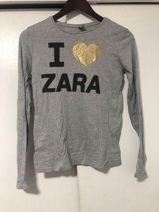 Zara gray long sleeves