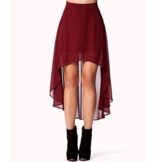 (3for$10)Asymmetrical skirt high low