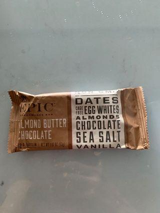 🚚 Epic bar chocolate almond