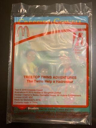 McDonald Happy Meal Dinosaur Book 6