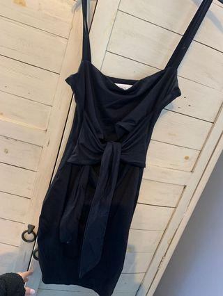 Black kookai dress