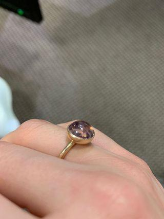 Pandora droplets ring 14k gold size 48