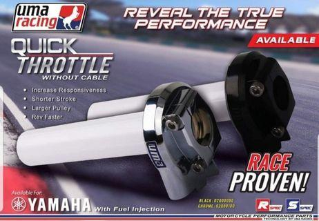 Instock Yamaha aerox sniper mxking quick throttle