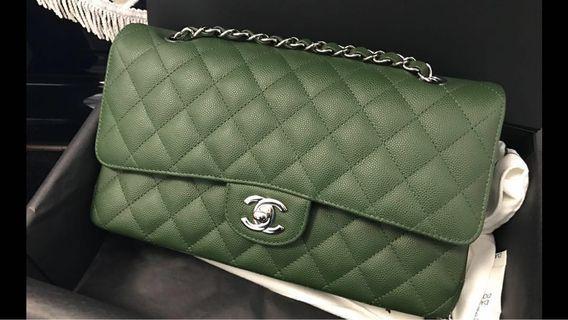 限時優惠🈹Brand new classic 25cm Olive green