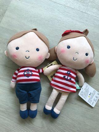 🚚 Couple Dolls Nautical Wedding