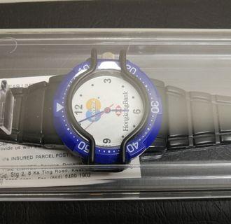 匯豐紀念品_Mondex(第一代電子支付系統)圖案手錶