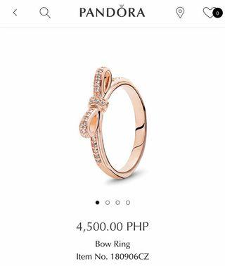 5fd36657a pandora rose ring | Women's Fashion | Carousell Philippines