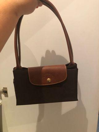 Longchamp Long Handle (Brown)(Large)