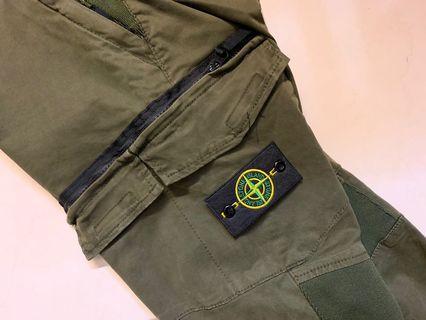 🚚 Stone island 軍綠褲 復刻品 m號