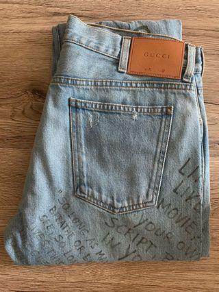 🚚 💯% Authentic BN Gucci Denim Jeans