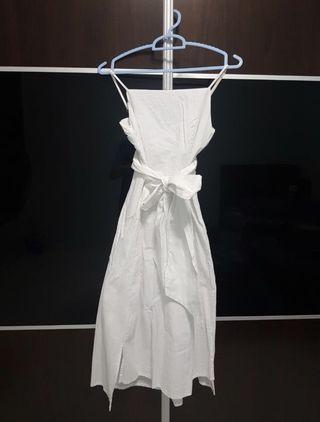 TEM White Dress