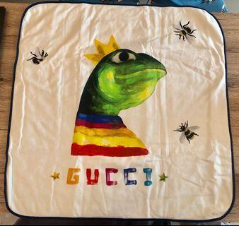 🚚 💯% Authentic BNIB Gucci Baby Blanket