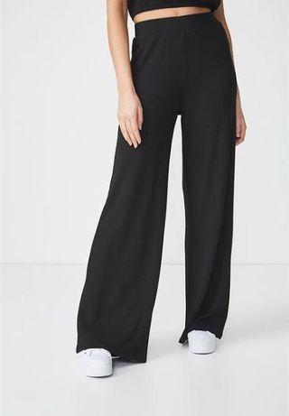 Wide leg drapey pants