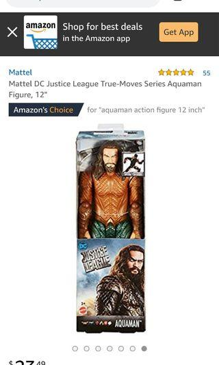 Mattel Justice League Aquaman