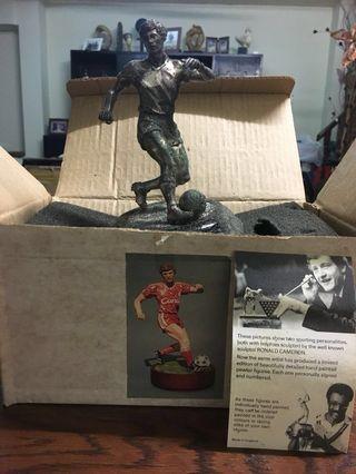 Vintage Ronald Cameron Soccer Sculpture