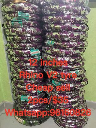 12 inches rhino V2 tyre cheap replacement services cheap cheap cheaper cheaper sell