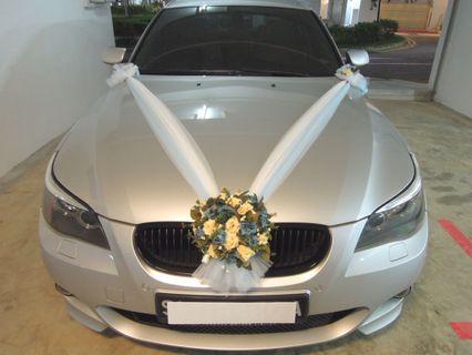 Wedding Car Decoration / Wedding Car Deco / Wedding Car Decor / Bridal Car Decoration / Bridal Car Deco / Bridal Car Decor / Wedding Car Flower